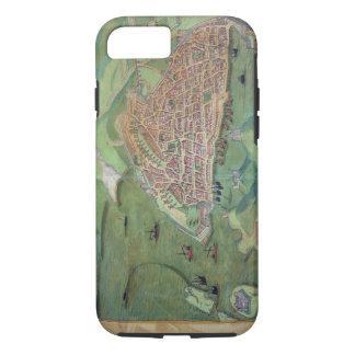 Map of Marseilles, from 'Civitates Orbis Terrarum' iPhone 7 Case