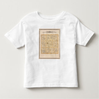 Map of Marshall County Toddler T-shirt