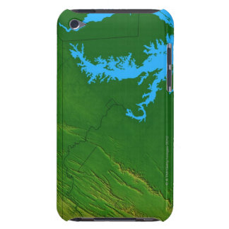 Map of Maryland 2 Barely There iPod Cover