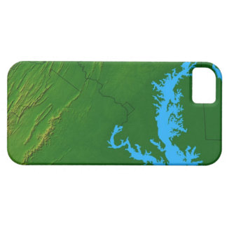 Map of Maryland 2 iPhone SE/5/5s Case