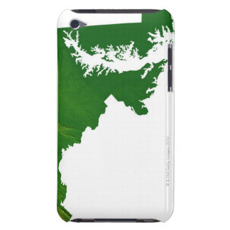 Map of Maryland 3 iPod Touch Cover