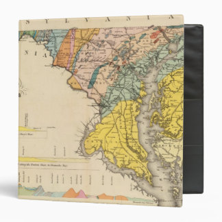 Map of Maryland and the District of Columbia Binder