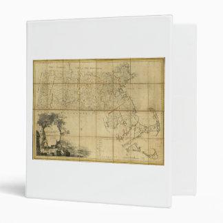 Map of Massachusetts (1802) Binder