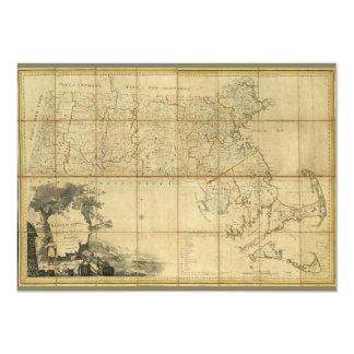 Map of Massachusetts (1802) Card