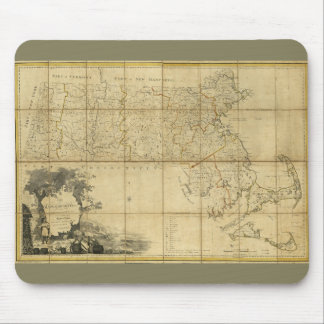 Map of Massachusetts (1802) Mouse Pad