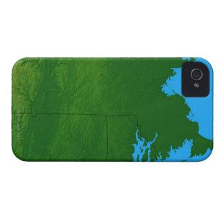 Map of Massachusetts 2 Blackberry Bold Cases