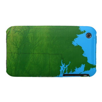 Map of Massachusetts 2 Case-Mate iPhone 3 Case