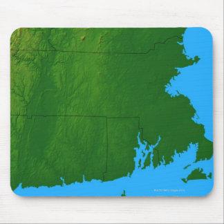 Map of Massachusetts 2 Mouse Pad