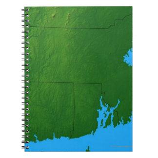 Map of Massachusetts 2 Note Book
