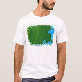 Map of Massachusetts 2 T-Shirt