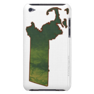Map of Massachusetts 3 iPod Touch Case-Mate Case