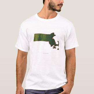 Map of Massachusetts 3 T-Shirt