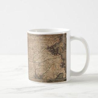 Map of Massachusetts by Bernard Romans (1775) Classic White Coffee Mug