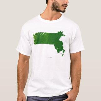 Map of Massachusetts T-Shirt