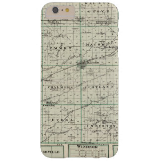 Map of McDonough County, Rushville Barely There iPhone 6 Plus Case