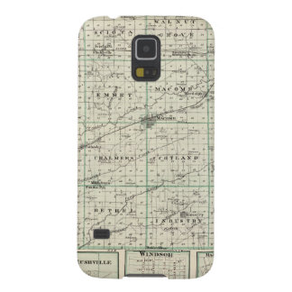 Map of McDonough County, Rushville Case For Galaxy S5