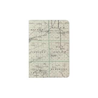 Map of McDonough County, Rushville Passport Holder