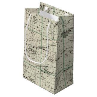 Map of McDonough County, Rushville Small Gift Bag