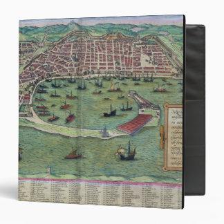 Map of Messina, from 'Civitates Orbis Terrarum' by 3 Ring Binder