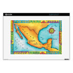 """Map of Mexico 15"""" Laptop Decal"""