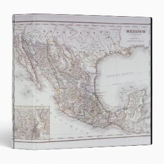 Map of Mexico 2 3 Ring Binder