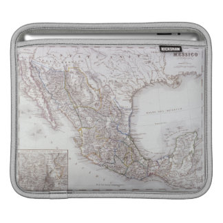 Map of Mexico 2 Sleeve For iPads