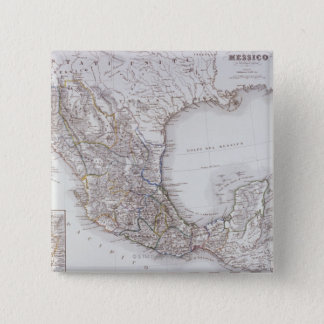 Map of Mexico 2 Pinback Button
