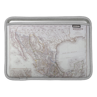 Map of Mexico 2 Sleeve For MacBook Air