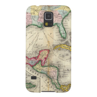 Map Of Mexico, Central America Case For Galaxy S5