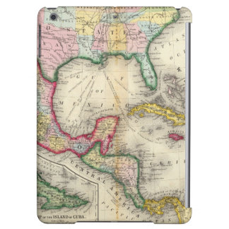 Map Of Mexico, Central America Cover For iPad Air