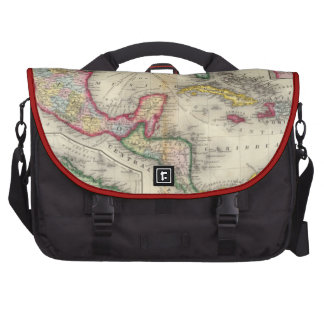 Map Of Mexico, Central America Computer Bag