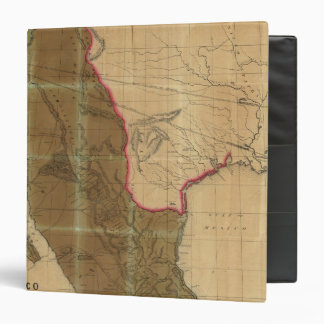Map of Mexico Showing the Seat of War Vinyl Binders