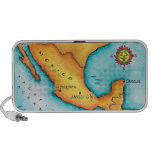 Map of Mexico Travelling Speaker