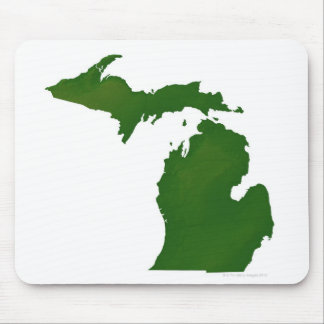 Map of Michigan Mouse Pad