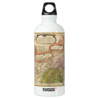 Map of Middle British Colonies in America 1771 Water Bottle