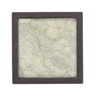 Map of Middle East Gift Box