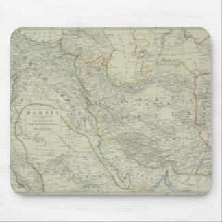 Map of Middle East Mouse Pad