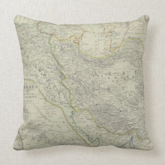Map of Middle East Pillow