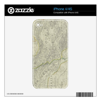 Map of Middle East Skin For The iPhone 4S