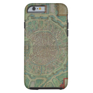 Map of Milan, from 'Civitates Orbis Terrarum' by G Tough iPhone 6 Case