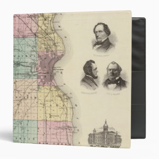 Map of Milwaukee County, State of Wisconsin Binder