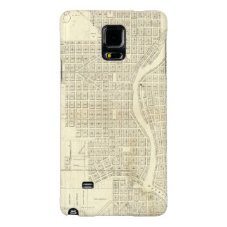 Map of Milwaukee Galaxy Note 4 Case