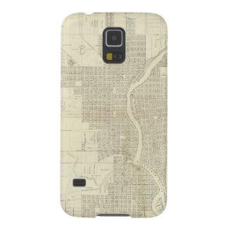 Map of Milwaukee Galaxy S5 Case