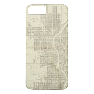 Map of Milwaukee iPhone 7 Plus Case