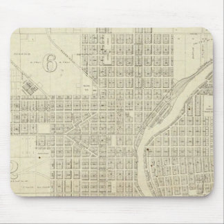 Map of Milwaukee Mouse Pad