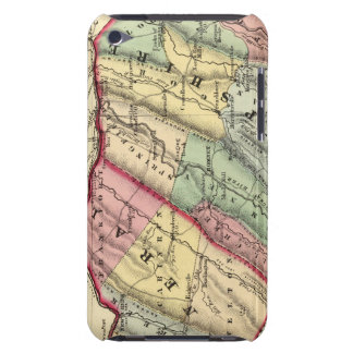 Map of Mineral, Hampshire counties iPod Touch Case