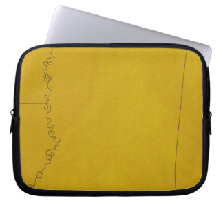 Map of Mississippi Laptop Sleeve
