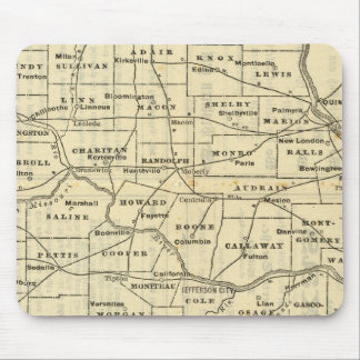 Map of Missouri 2 Mouse Pad