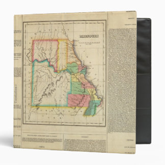 Map Of Missouri 3 Ring Binder