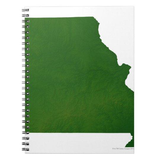 Map of Missouri Notebook